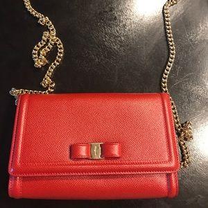 Salvatore Ferragamo Miss Vara Mini Bow Bag